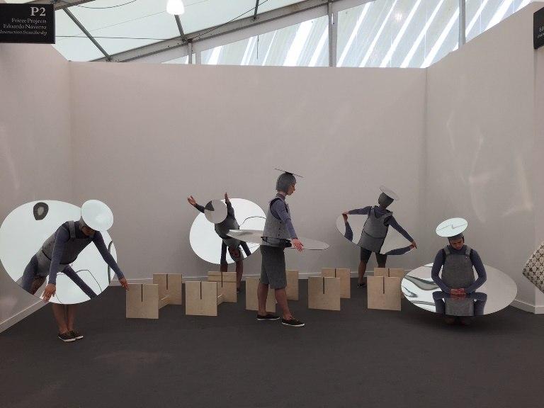Eduardo Navarro performance visit museum york