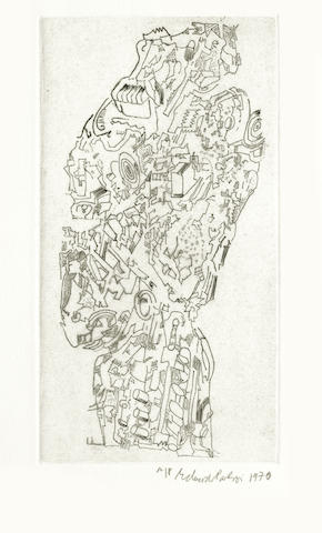 Eduardo Paolozzi-Untitled (Head)-1970