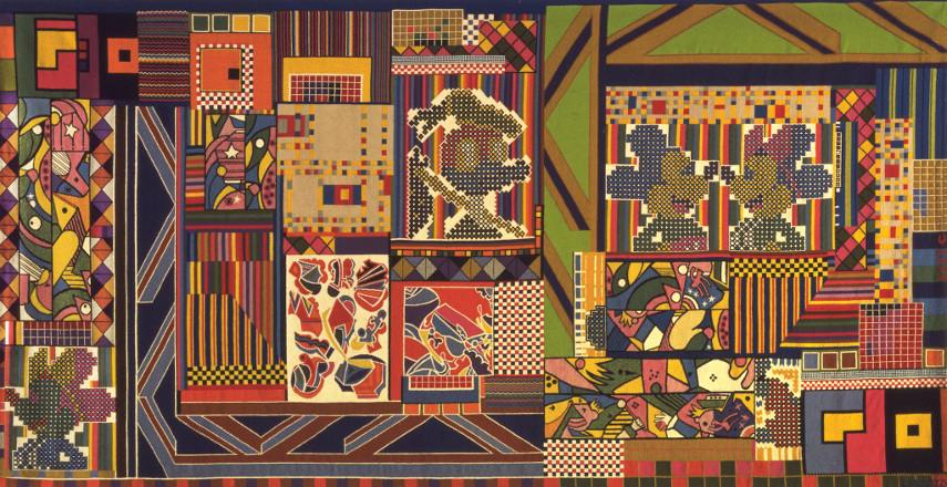 Eduardo Paolozzi - Contact April in London - Image via timeoutcom