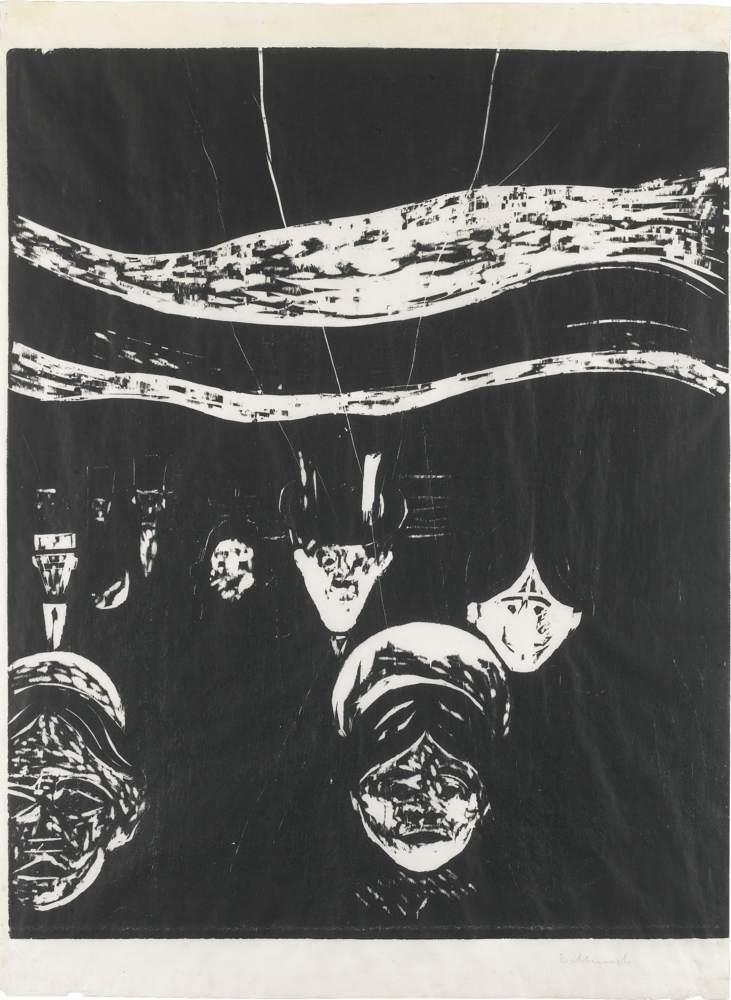 Edvard Munch-Angst-1896