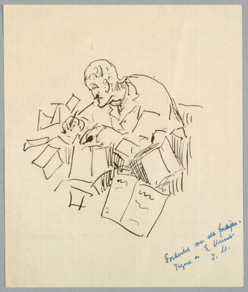In Conflict with Bureaucracy. Self-Portrait, 1930–1939
