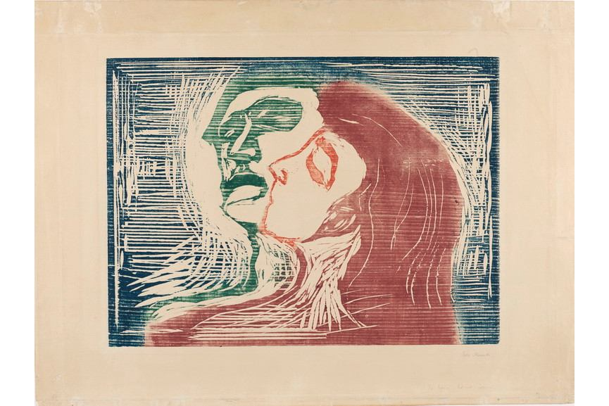 Edvard Munch - Kopf bei Kopf