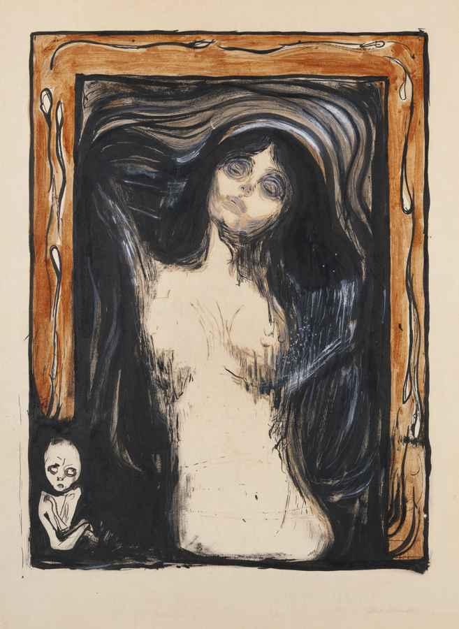 Edvard Munch-Madonna-1895