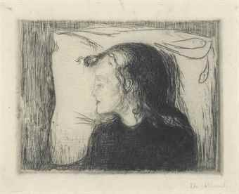 Edvard Munch-The Sick Child-1896