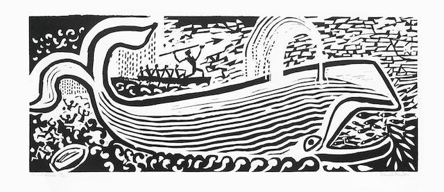 Edward Bawden-Jonah's Whale-1987