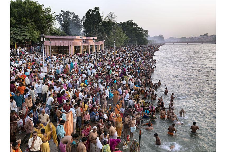 Kumph Mela #1, Haridwar, India 2010