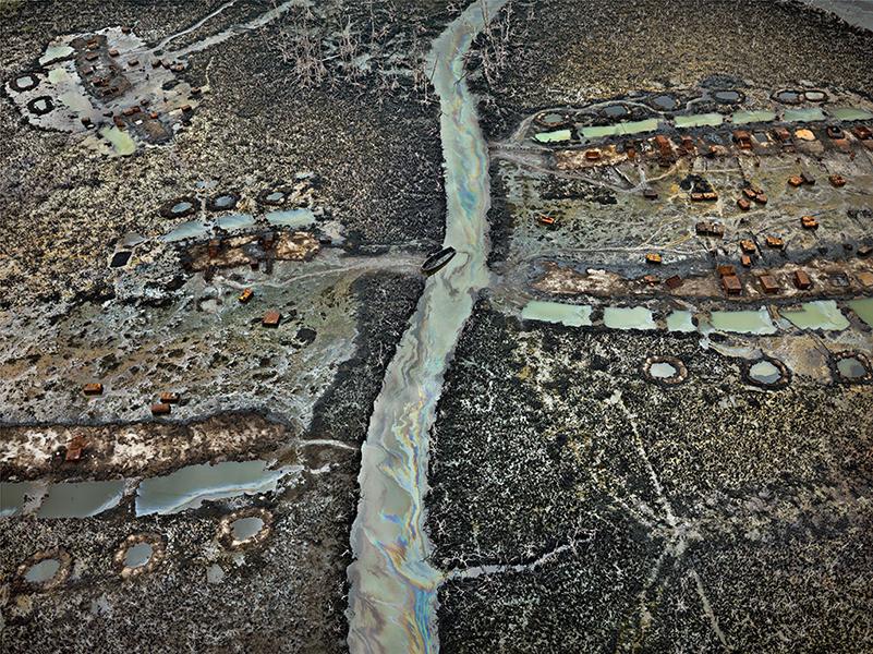 Edward Burtynsky - Oil Bunkering #2, Niger Delta, Nigeria, 2016