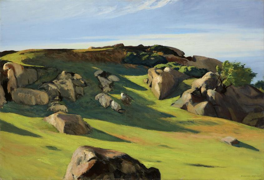 Edward Hopper - Cape Ann Granite