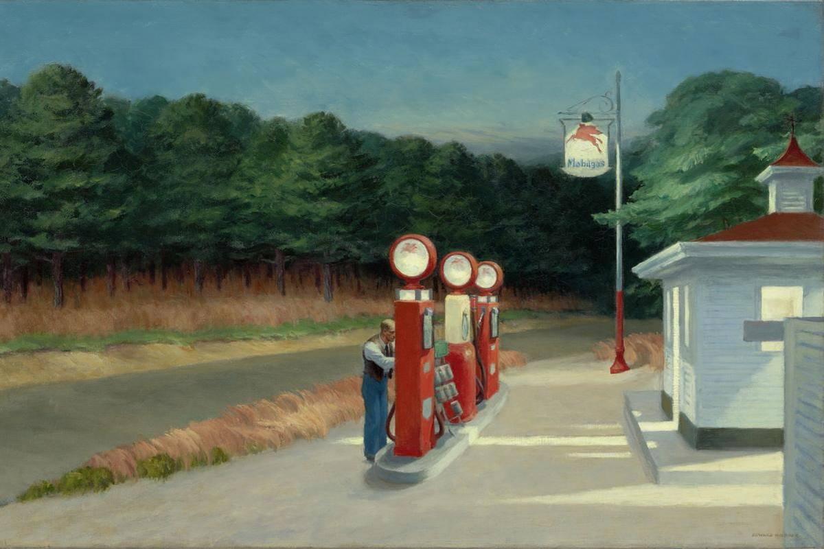 Edward Hopper - Gas
