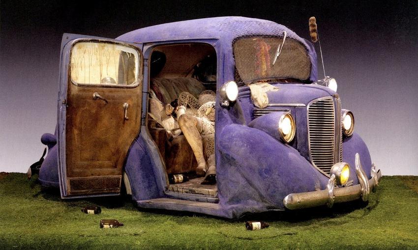 Edward Kienholz - Back Seat Dodge '38, 1964, gallery work in los angeles