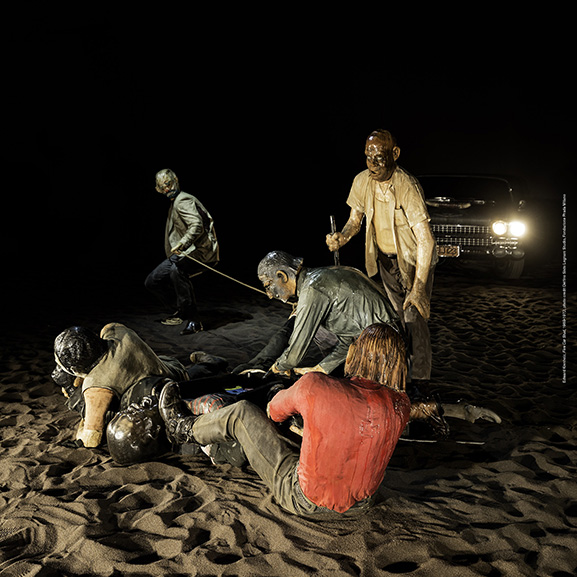 Edward Kienholz - Five Car Stud