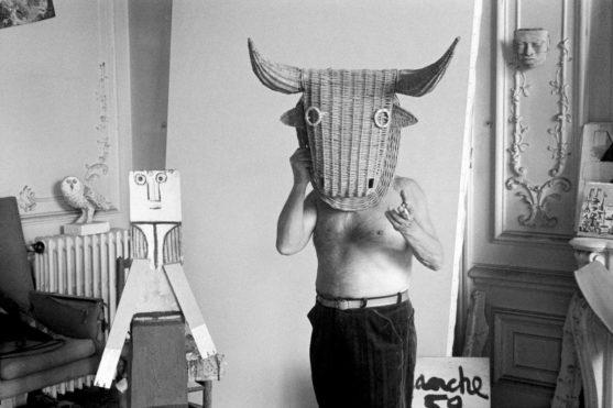 Edward Quinn - Picasso as minotaur