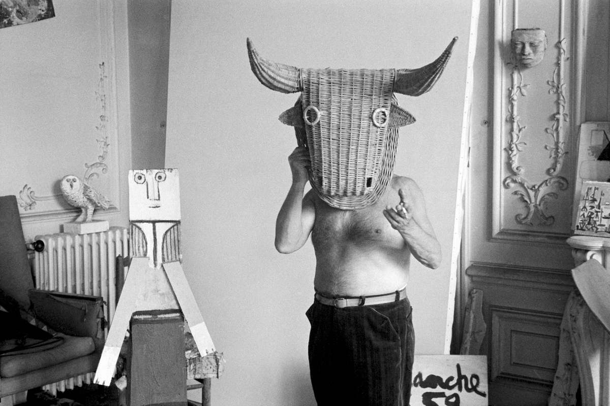 Edward Quinn - Picasso as minotaur