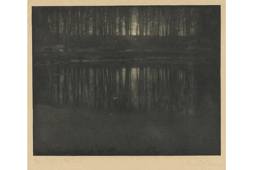 Edward Steichen - The Pond-Moonlight, 1904 photo peter lik 2015 privacy usen