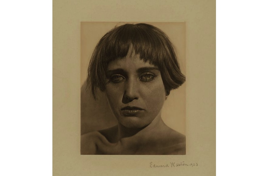 Edward Weston - Nahui Olin, 1923, from the New York gallery on view at MFA