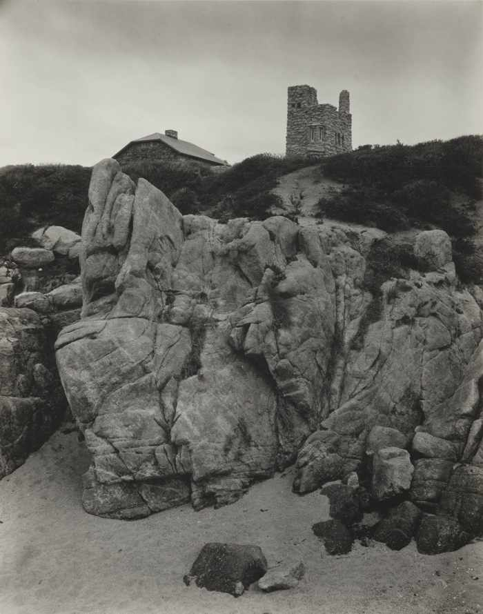 Edward Weston-Tor House And Hawk Tower Carmel-1930