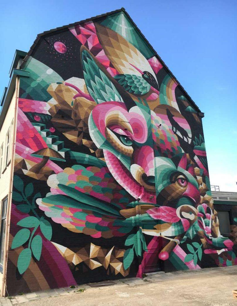 Eelco van den Berg - Mural in Heerlen