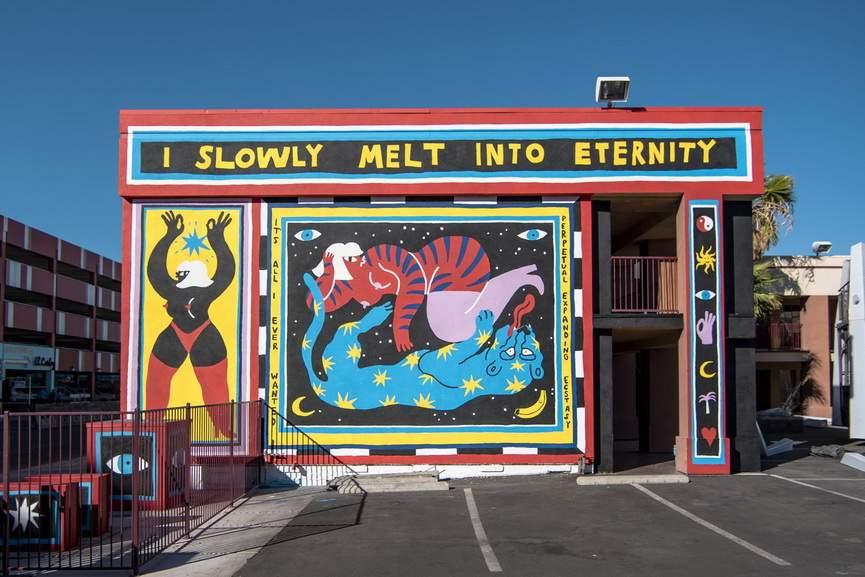 Egle Zvirblyte mural