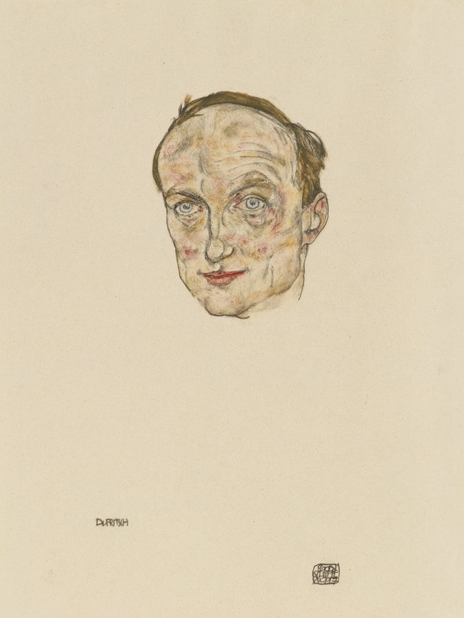 Egon Schiele-Dr. Othmar Fritsch-1917