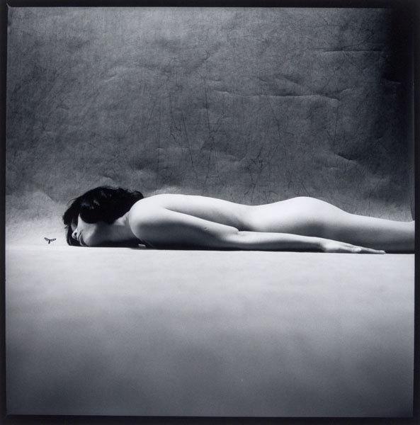 Eikoh Hosoe-Bee and woman-1964
