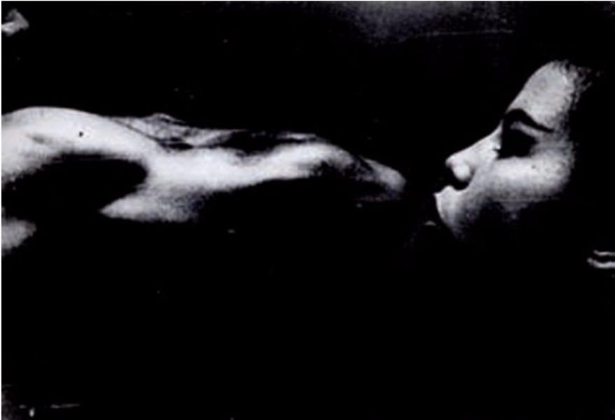 Eikoh Hosoe-De la serie 'Homme et femme'-1960