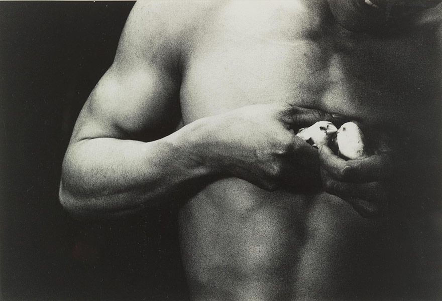 Eikoh Hosoe-Man and Woman #33-1960