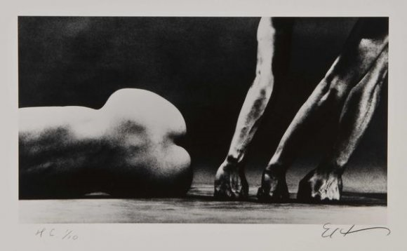Eikoh Hosoe-Man and woman 24/Shadow and love, Yosemite-
