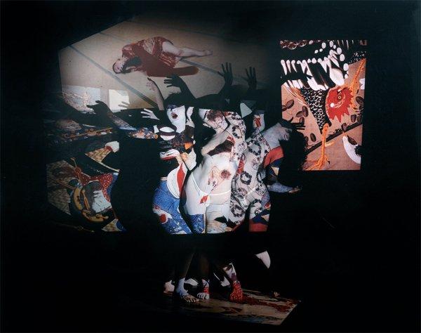 Eikoh Hosoe-Ukiyoe projection-2003