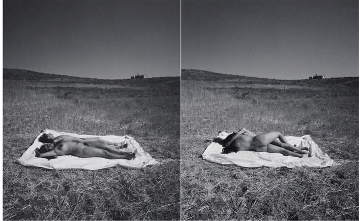 Eikoh Hosoe-Untitled (Nudes) I & IV-2001