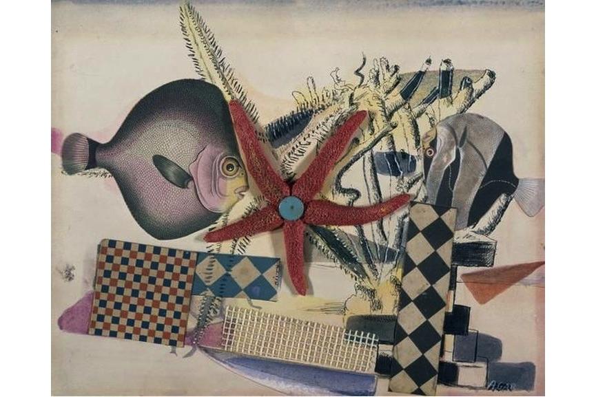 Eileen Agar - Fish Circus, 1939