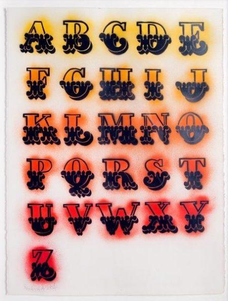 Ben Eine-Alphabet Circus-2007