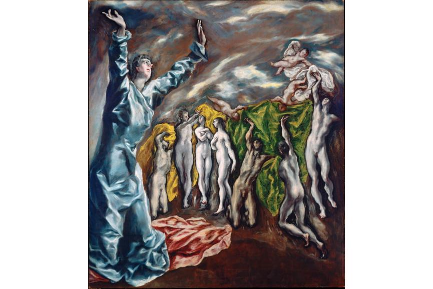 El Greco - Opening of the Fifth Seal