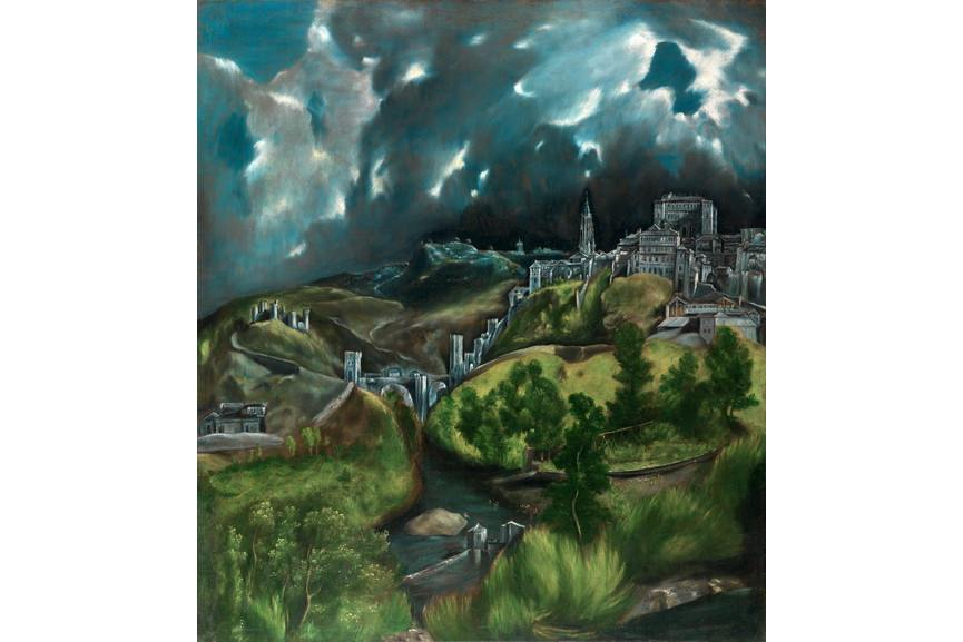 El Greco - View of Toledo