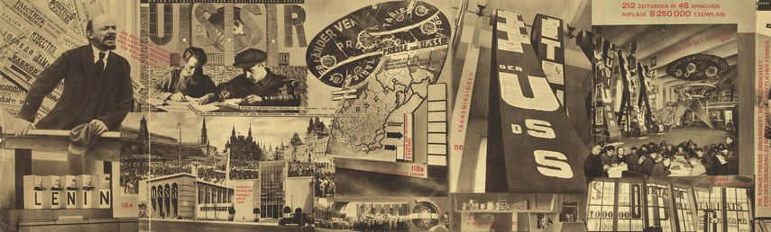 El Lissitsky, Unstoppable photomontage