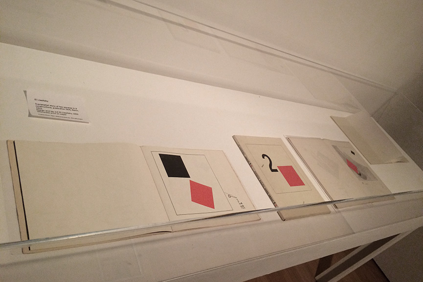 El Lissitzky - About Two Squares