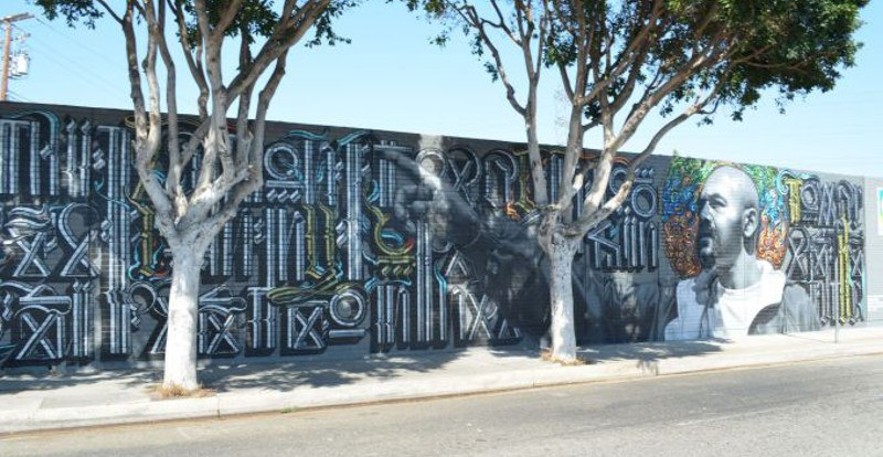 El Mac x Retna - Of Our Youth, 2010 - 1