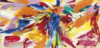 Elaine de Kooning-Untitled-1950