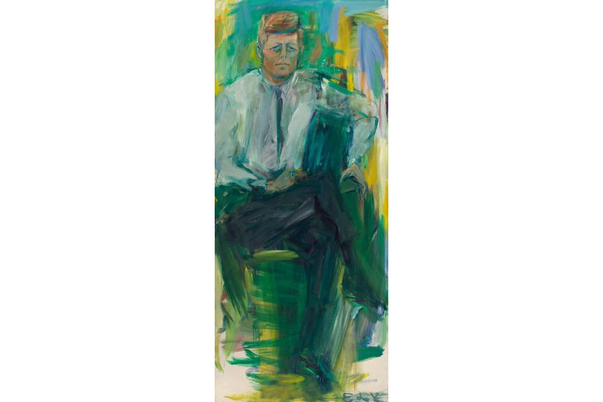 jfk presidential portrait