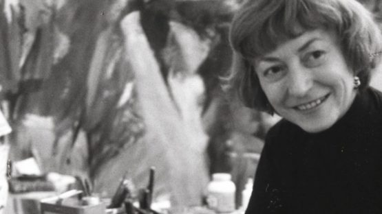 Elaine de Kooning - photo by Rudolph Burckhardt, 1960, abstract expressionism, figurative expressionism use privacy terms for home contact and for art portrait