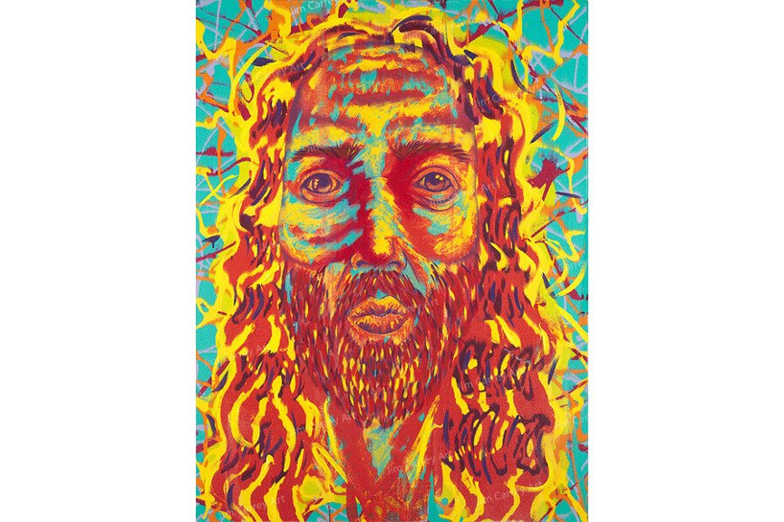 Electric Jesus, news of a trump portrait
