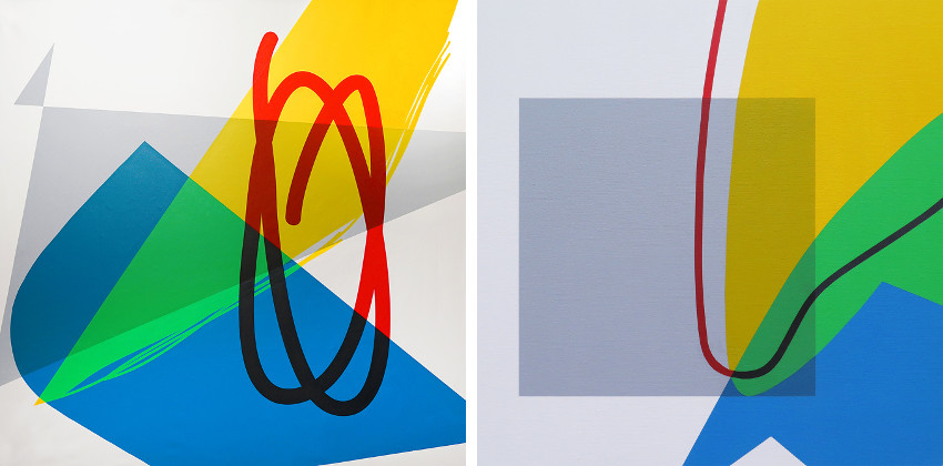Elian - The Influence of Gray on a Bright Color, 2016 (Left) - Estudio Sobre el Balance, 2016 (Right), new, home, contact, news, july