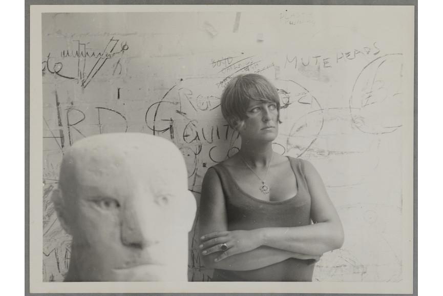 Elisabeth Frink photographed by Edward Pool