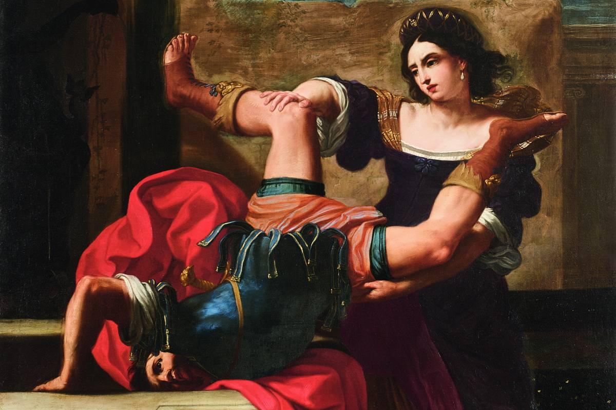 Elisabetta Sirani - Timoclea Killing Alexander's Captain
