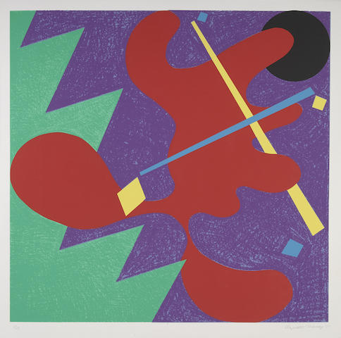 Elizabeth Murray-Untitled (Mostly Mozart Festival)-1979