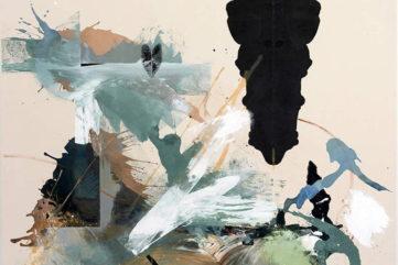 Elizabeth Neel oil paint on canvas, installation pilar corrias