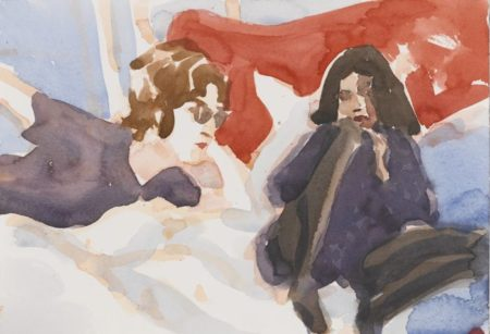Elizabeth Peyton-John + Yoko-1998