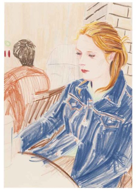 Elizabeth Peyton-Kirsty (Berlin)-2000