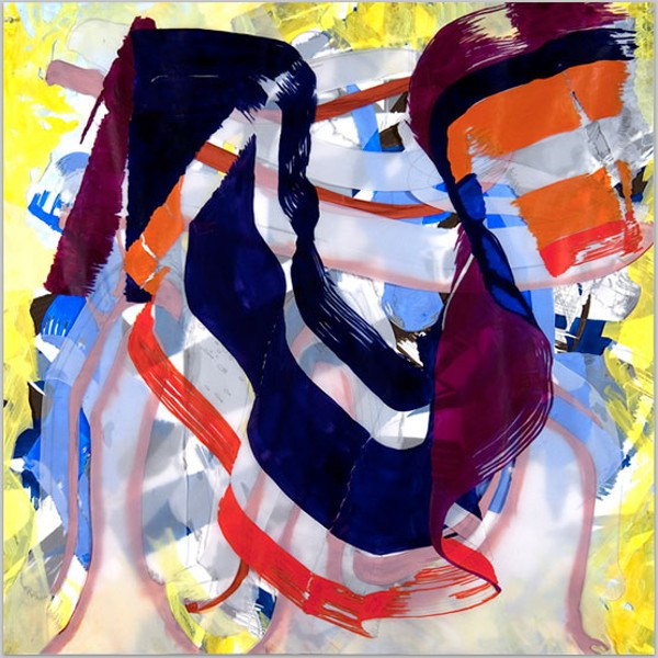 Ellen Priest - Jazz - Edward Simon's Venezuelan Suite #23, 2010, abstract art