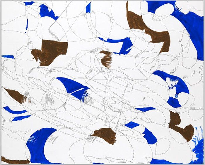 Ellen Priest - Jazz - Thinking Out Loud, Reaching for Song #1, 2011, abstract art
