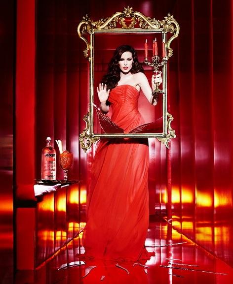 Ellen von Unwerth - Bloody Mary from Absolut Vodka